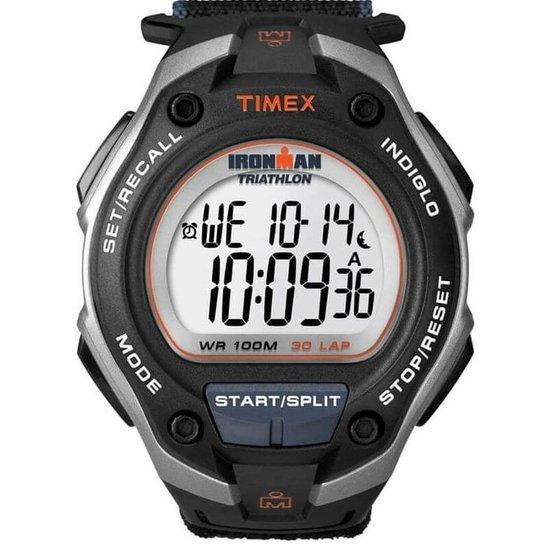 43d896cdd48b RELÓGIO TIMEX IRONMAN 30 LAP T5K415WKL 8N - Compre Agora