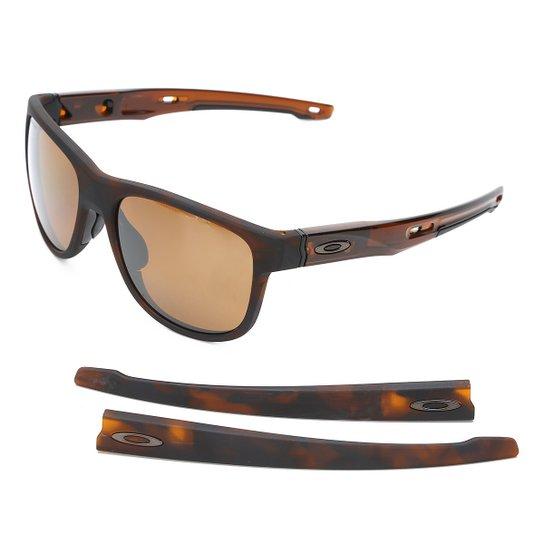 677a0f2ace28b Óculos de Sol de Sol Oakley Crossrange R Masculino - Marrom - Compre ...
