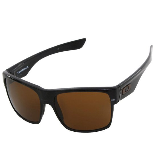 a107fd1ecd540 Óculos Oakley TwoFace Polished Black Dark Bronze - Compre Agora ...