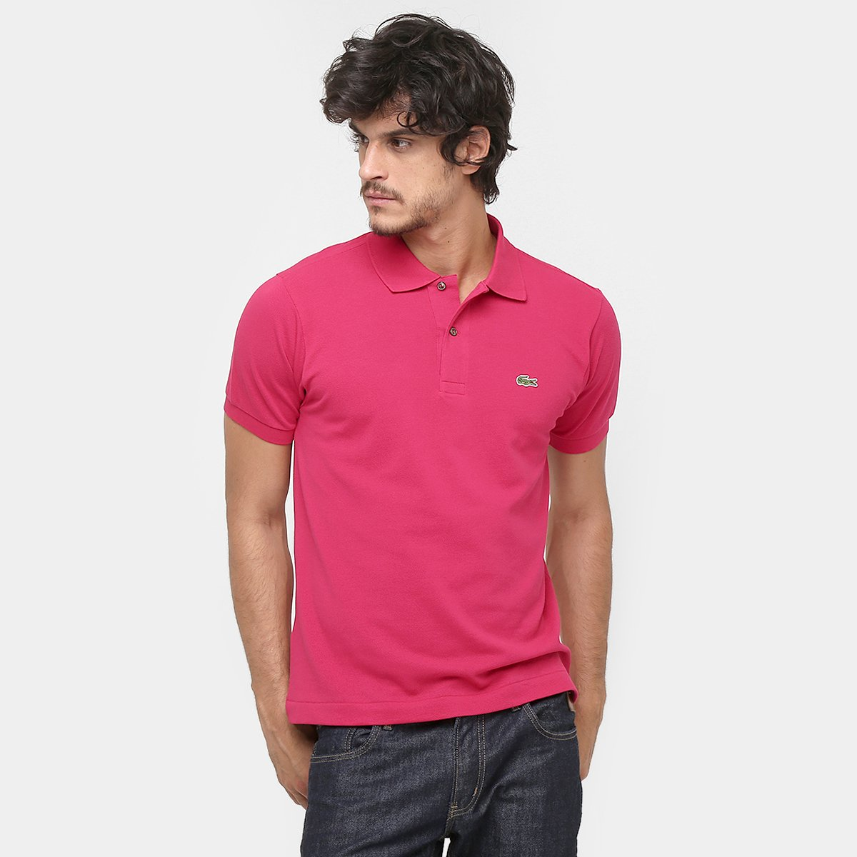 Camisa Polo Lacoste Original Fit Masculina. undefined c12d97c9e8