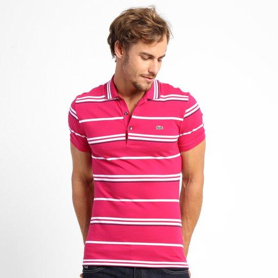 28a3b168fb Camisa Polo Lacoste Listrada Slim Fit - Compre Agora