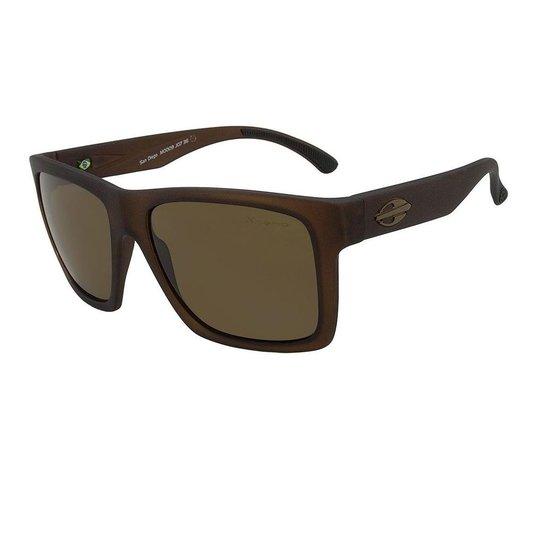 3883f85e144f4 Óculos de Sol San Diego Marrom Translucido Polarizado Mormaii - Marrom