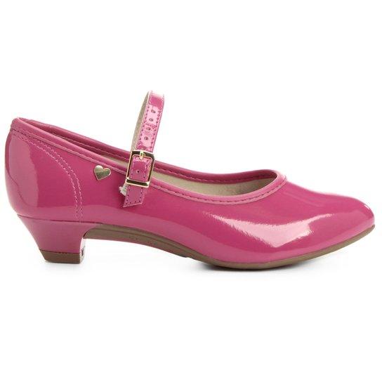 2ded4b2a8 Sapato Boneca Molekinha Verniz Infantil - Pink