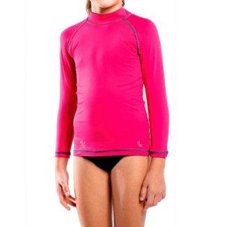 Camiseta Infantil Lupo com Proteção Solar Infantil UV 50+ Feminina b39f69b8e5f