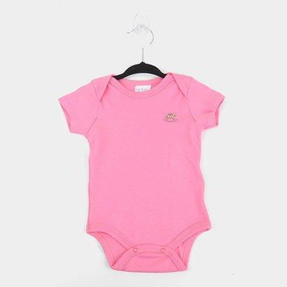 Body Infantil Up Baby Suedine Liso Bebê