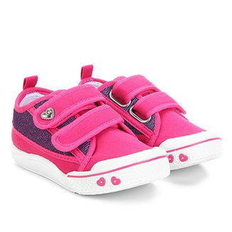 82c810a1916 Tênis Infantil Klin Velcro Feminino