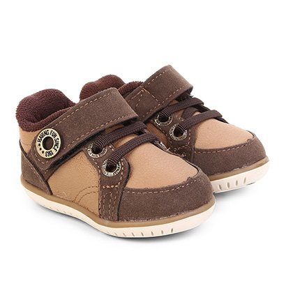 Sapato Infantil Klin Cravinho Velcro