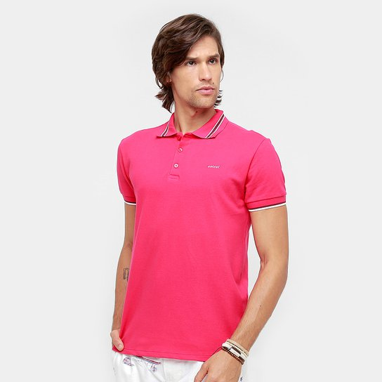 0a0d6b962 Camisa Polo Colcci Piquet Friso Grosso Bicolor Masculina | Netshoes
