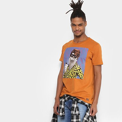 Camiseta Colcci Foca Masculina