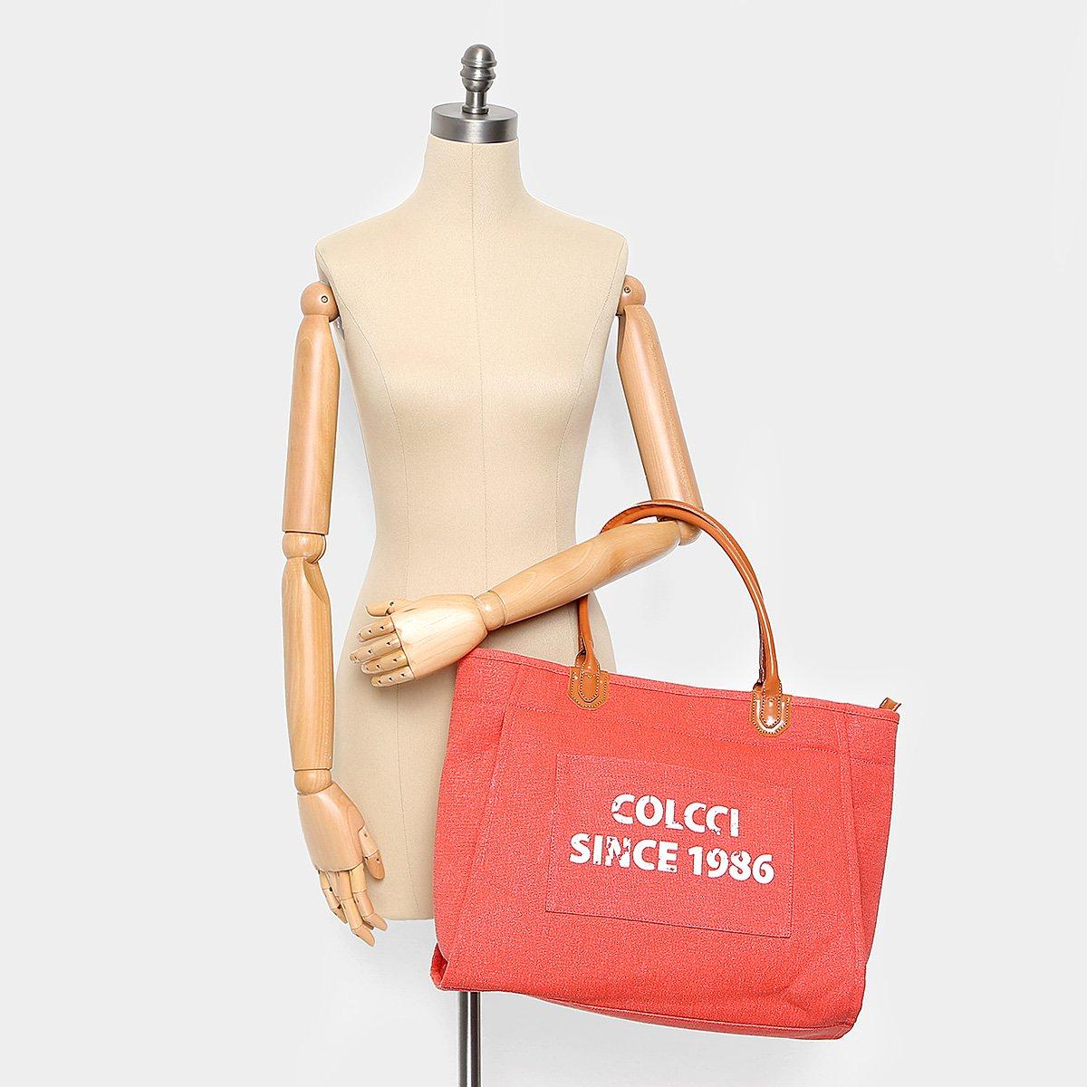 cb186188b Bolsa Shopping Bag Colcci Feminina | Livelo -Sua Vida com Mais ...