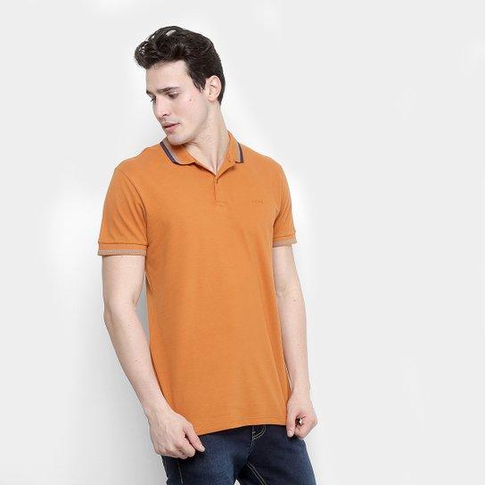 edb82afed2 Camisa Polo Colcci Listras Masculina - Laranja - Compre Agora