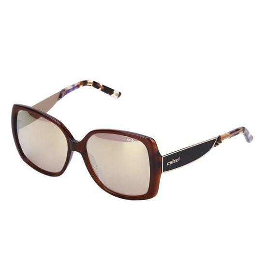 6c1ac780f Óculos de Sol Colcci Espelhado C0022 Feminino - Marrom | Netshoes