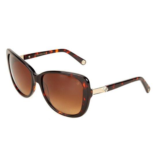 1cf5635aa063b Óculos de Sol Forum Marmorizado Tartaruga Feminino - Compre Agora ...