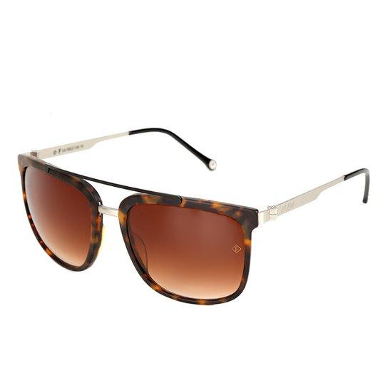 4024932fb Óculos Forum Fosco Masculino - Marrom | Netshoes