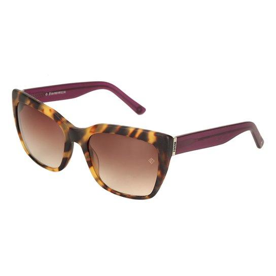 f01d6cd8d Óculos de Sol Forum Tartaruga Feminino - Marrom - Compre Agora ...