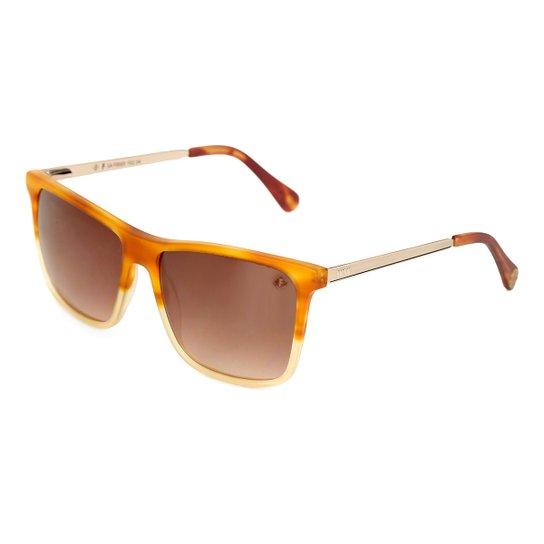 Óculos de Sol Forum Marmorizado Masculino - Marrom - Compre Agora ... 27fd7aacce