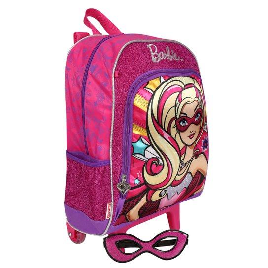 e35779616 Mochila de Rodinhas Sestini Barbie Super Princesa | Netshoes
