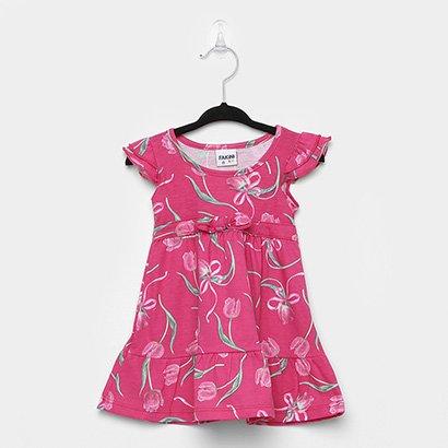Vestido Infantil Fakini Floral