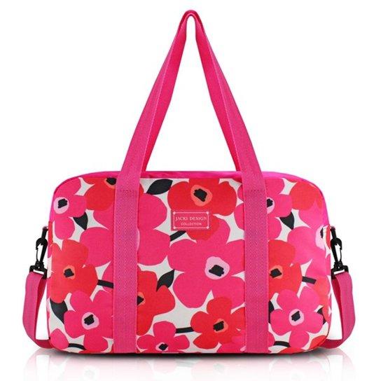 5f74cce82 Bolsa de Viagem Jacki Design Poliéster - Pink | Netshoes