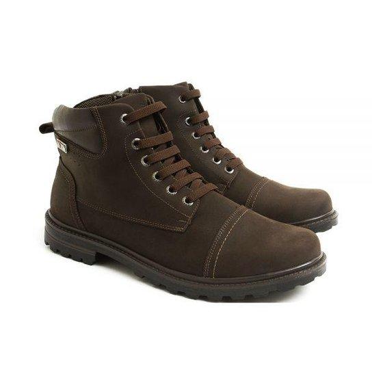 2ff6417a18 Coturno Couro Venetto Worker Adventure Conforto Brown   Netshoes