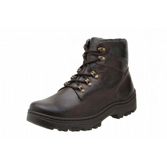 Bota Stevan Boots Couro Adventure Marrom - Marrom - Compre Agora ... fceecb30c9b