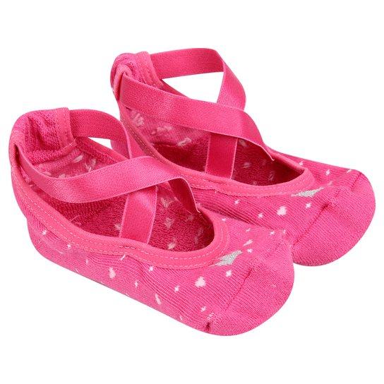 99d9228d5d Meia Puket Sapatilha Ballet Infantil - Pink