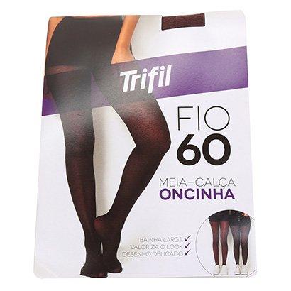Meia Calça Trifil Onça Fio 60 Feminina