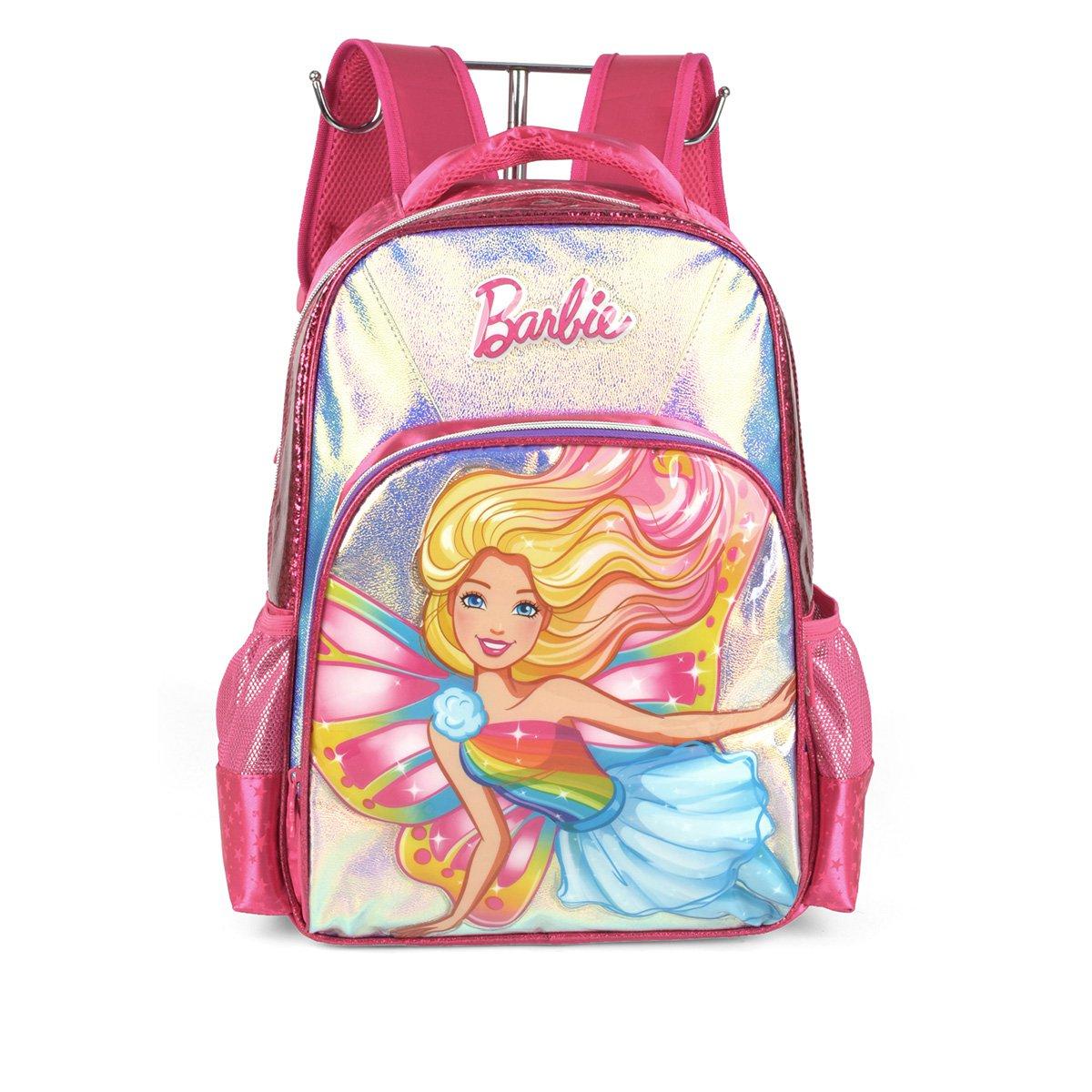 "Mochila Infantil Luxcel Barbie 16"" Masculina"