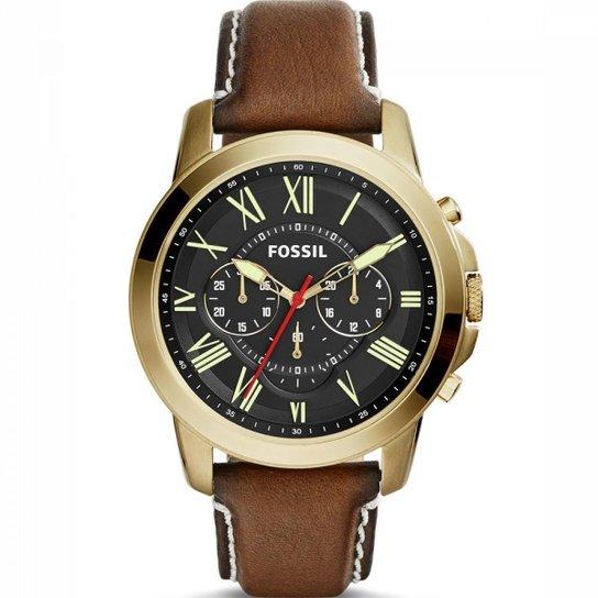 c725e35200a Relógio Fossil Grant Chronograph FS5062 2MN - Compre Agora