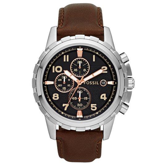 Relógio Fossil Masculino Analógico Fossil - Compre Agora   Netshoes 0505edfc01