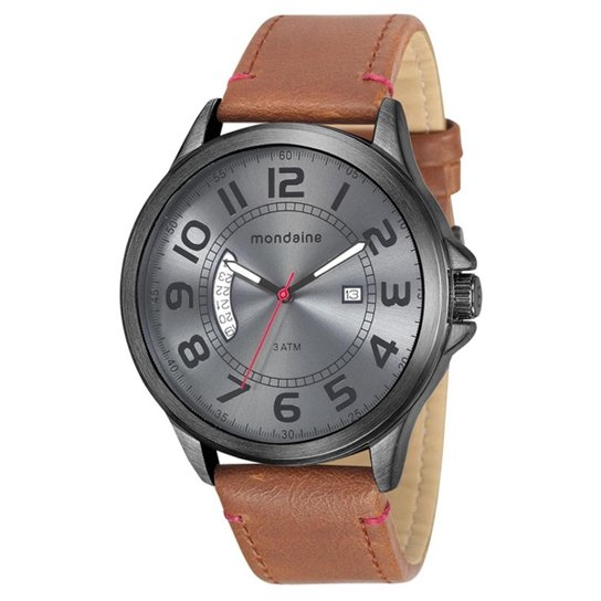 9aa610f47 Relógio Masculino Mondaine 76700GPMVPH2 Pulseira Couro - Compre ...
