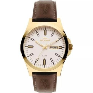 85c5f3dce43 Relógio Masculino Technos 2305AZ 2B 44mm Couro