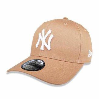 Boné New York Yankees 3930 White on Brown MLB - New Era 569e9d35386