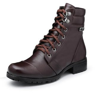 2776866ac Compre Bota Wolker Cano Curto Marrom Online | Netshoes