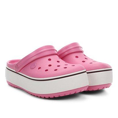 Sandália Crocs Infantil Crocband Platform Clog