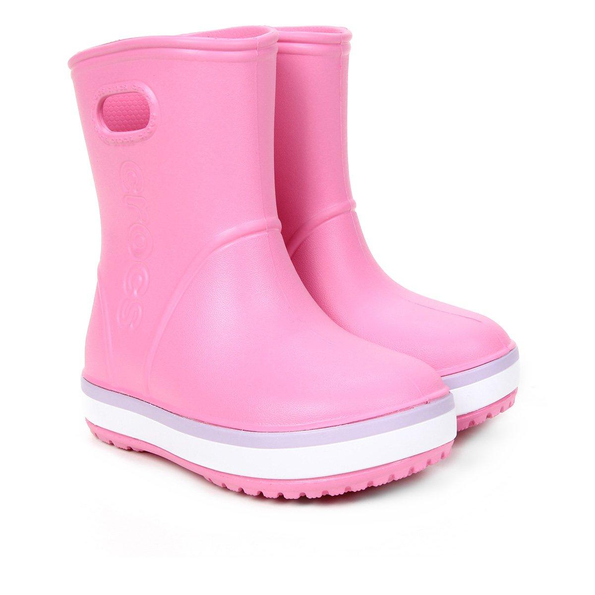 Bota Crocs Infantil Crocband Rain Boot K