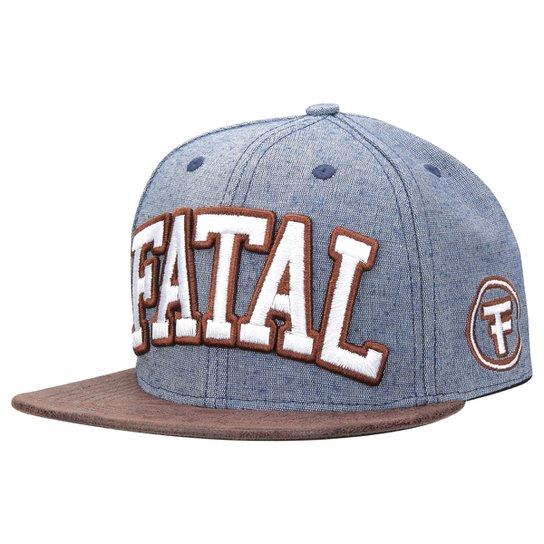 Boné Fatal Aba Reta Logo - Compre Agora  cf3b07cbafb