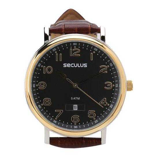 d4008843f83 Relógio Seculus Analógico Masculino 23560GPSVBC1 - Compre Agora ...