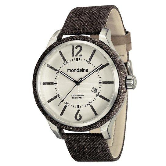 35f5450eddb Relógio Mondaine Masculino - Marrom - Compre Agora
