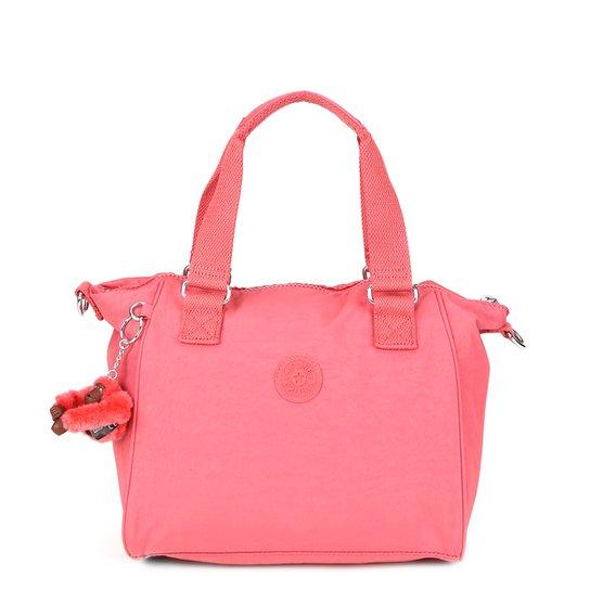 9f01a365f Bolsa Kipling Shopper Amiel Alça Removível Feminina - Pink   Netshoes