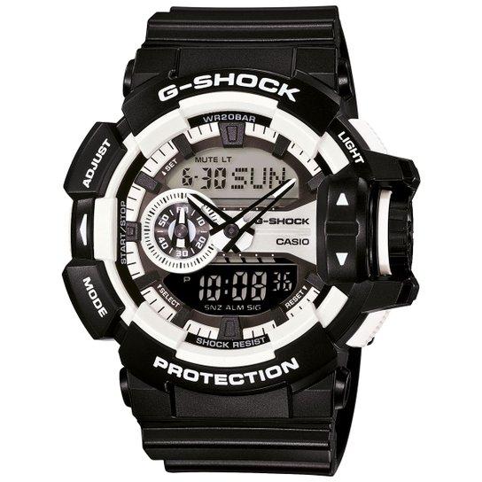 d08a98b469d Relógio G-Shock GA-400 - Preto e Prata
