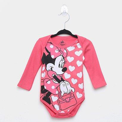 Body Infantil Marlan Suedine Disney Minnie