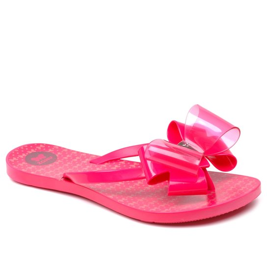 7a04a937e Chinelo Zaxy Link - Pink | Netshoes