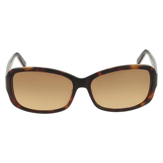 Óculos de Sol Nine West NW569S 218 57 Tartaruga - Marrom - Compre ... a46136d962