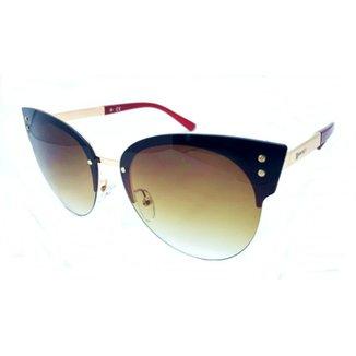 1efd1feddb4af Óculos De Sol Fashionista Polarizado Degradê Feminino