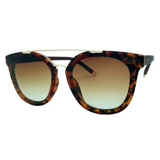 6c24ed853a72b Óculos De Sol Fashion Tartaruga Garnet Feminino