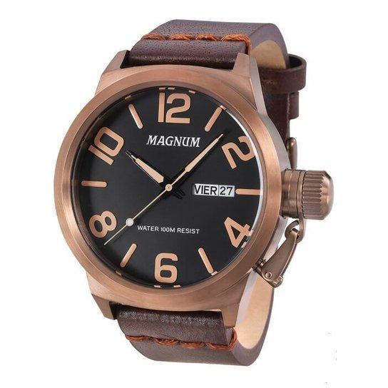 53ef2973e72 Relógio Magnum Masculino Ma33399R - Compre Agora