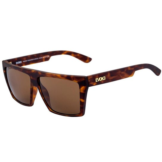 ÓCULOS EVOKE EVK 15 NEW SPEED TURTLE GOLD BROWN GRADIENT - Compre ... 4c629417ae