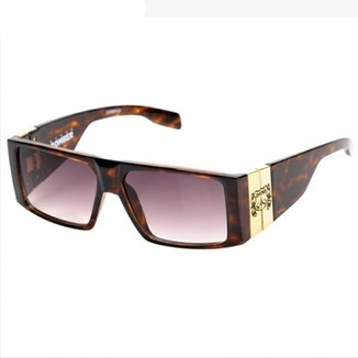 d161358931e80 Óculos de Sol Evoke Bomber G22 Turtle Gold Brown