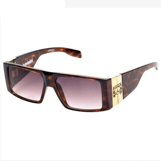ea313ca39 Óculos de Sol Evoke Bomber G22 Turtle Gold Brown | Netshoes
